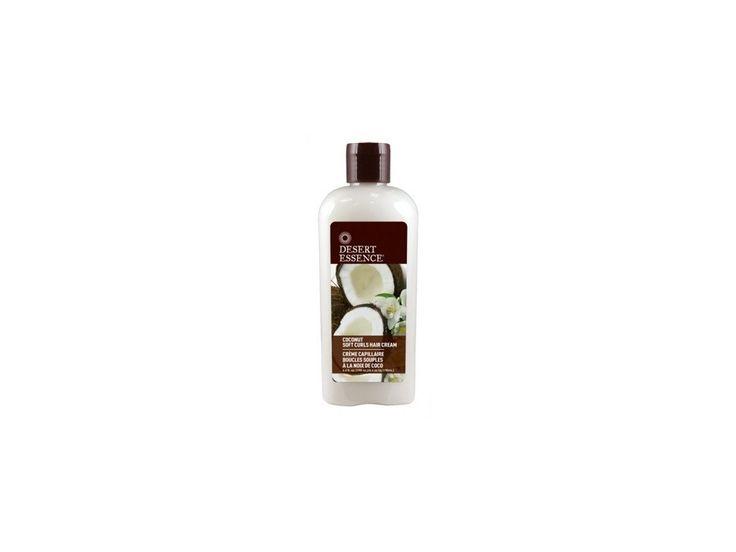 Desert Essence vlasový krém pro vlnité a kudrnaté vlasy
