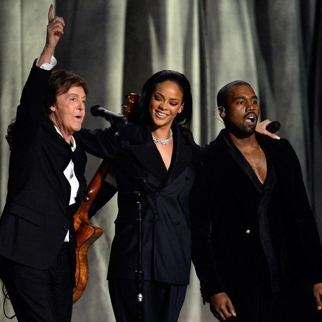 Paul Mccartney Opens Up About His Experience Working With Kanye West Highsnobiety Paul Mccartney Kanye West Kanye