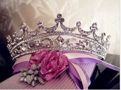 Online Shop Rhinestone Crystal crowns bride hair accessories wedding tiaras for sale pageant crowns head jewelry hair ornaments|Aliexpress Mobile
