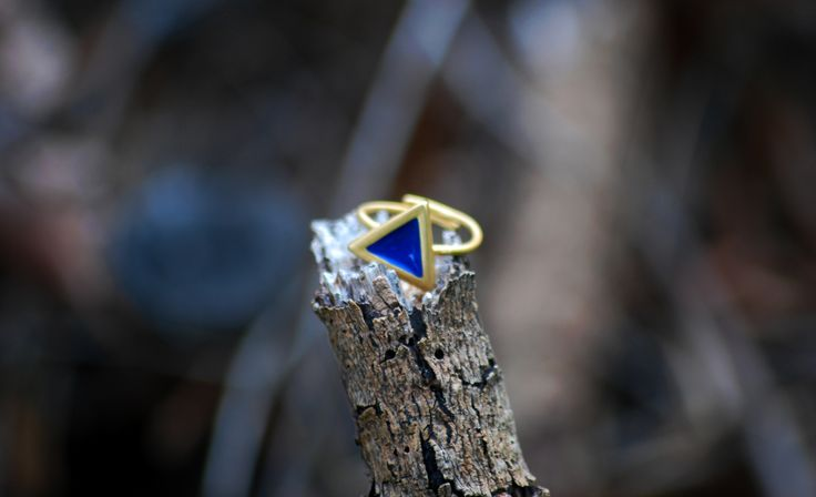 Gold Plated Silver ring!! Triangle ring!! #prigkipw #πριγκιπώ