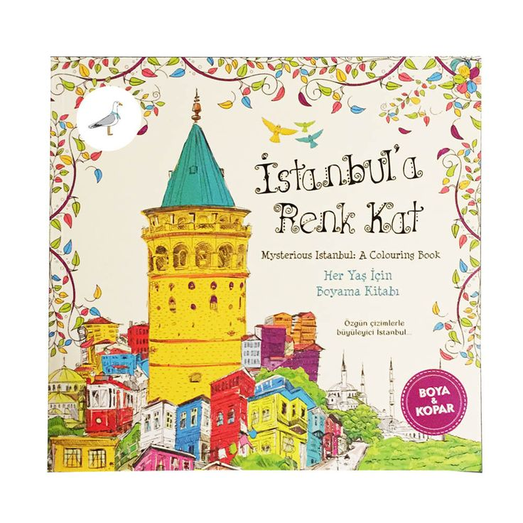 Mysterious Istanbul: A Colouring Book / Istanbul`a Renk Kat