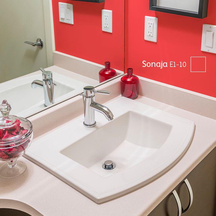 Sabes que tu baño se vería mejor con un #COLOR intenso lleno de personalidad. ¿Cierto?