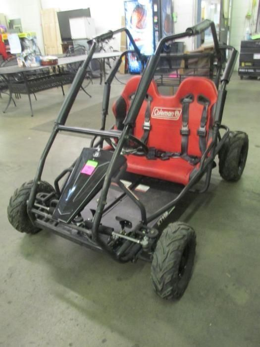 Just ordered this 2 seater 196cc go kart online.
