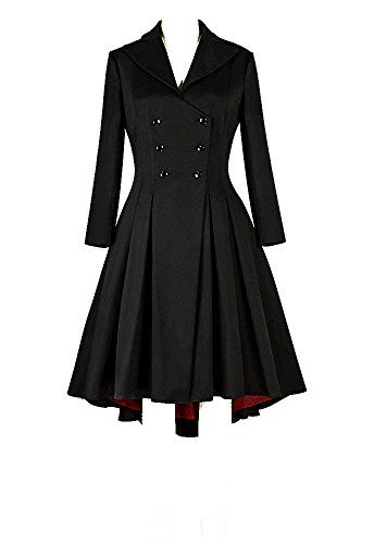 46fff53e9ac Chic Plus Size Black Burgundy Lined Retro Gothic Jacket Women Plus Size  Coats Jackets.   88.99  topoffergoods from top store