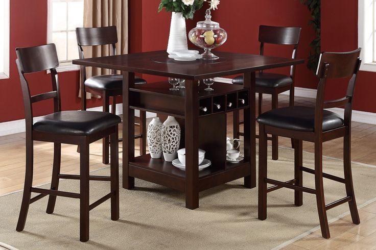 Extraordinary Counter High Dining Sets With Storage Table Ideas Pinterest