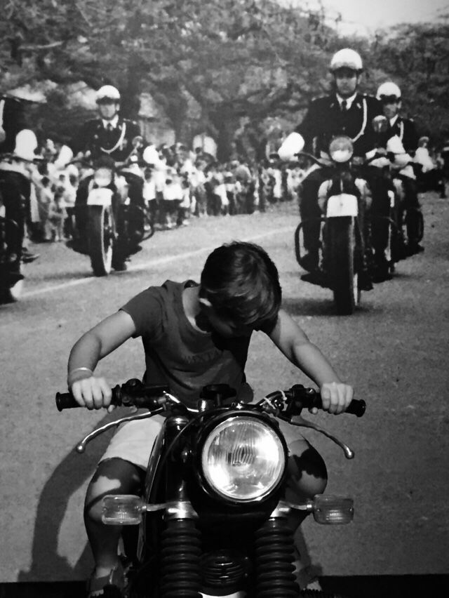 kid ride #Bmw #R100 #R90 #R80 #R75 #R60 #R50 #R65 #R45 #R69 #Motorrad #Motorcycle