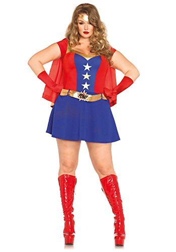 2131 best women halloween costumes images on pinterest halloween halloween costumes women leg avenue womens plus size 3 piece comic book girl costume sciox Choice Image