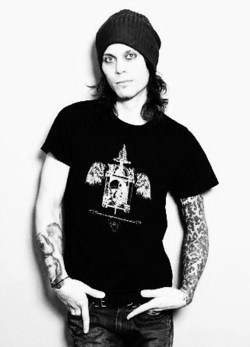One of my favorite photographs of Ville Valo <3