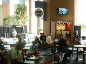 The Greater Richmond's Convention Center Cyber Cafe