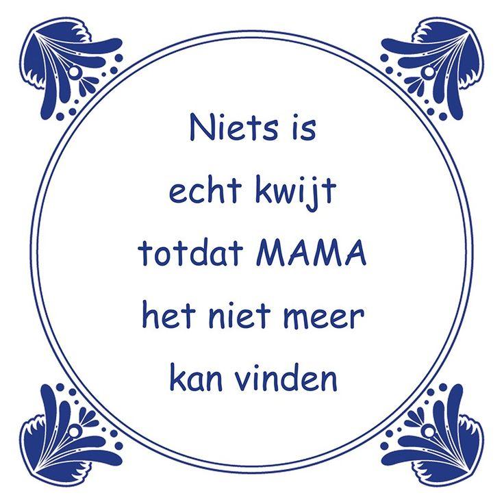 Tegeltjeswijsheid.nl - een uniek presentje - Niets is echt kwijt