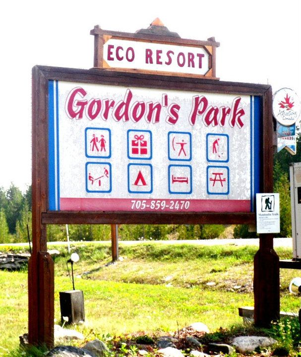 our beloved sign- gordonspark.com