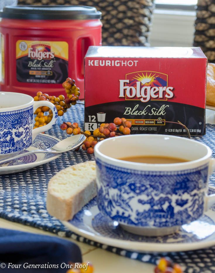 Special Memories with my Grandmother over a cup of hot Folgers® coffee @folgers #ad #folgers