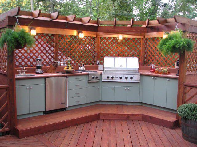 207 best outdoor bbq kitchen images on pinterest