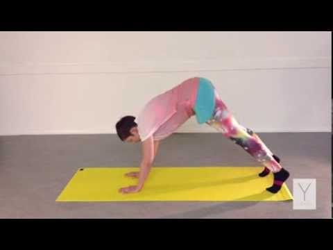 dru it yourself downward dog with hamstring stretch