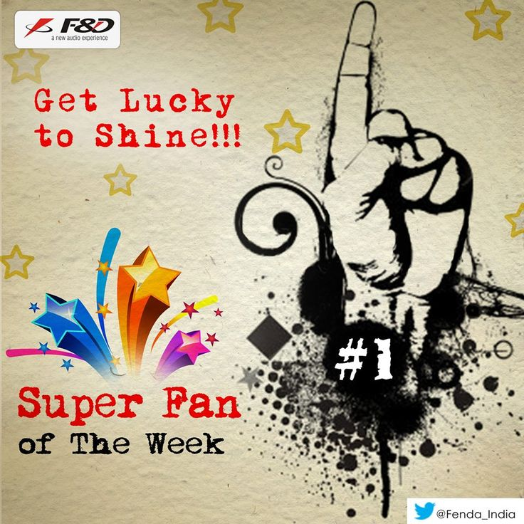 Be active and get lucky to shine like a SuperFan! Fenda is back to honor its most active fans on the page 'Superfan of that Week'. So let's get started & get selected for almost every week ahead!