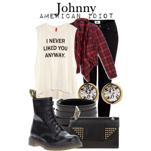 Johnny - American Idiot by thebroadwaywardrobe on Polyvore