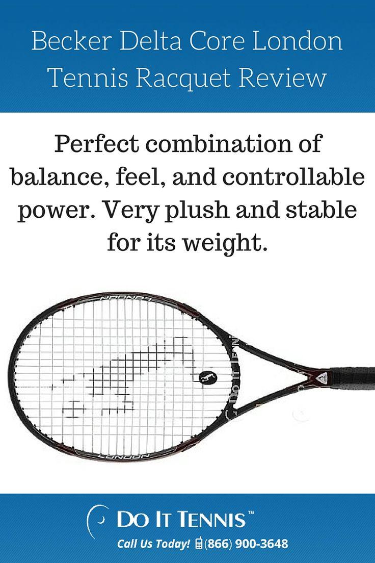 Becker Delta Core London Tennis Racquet Review
