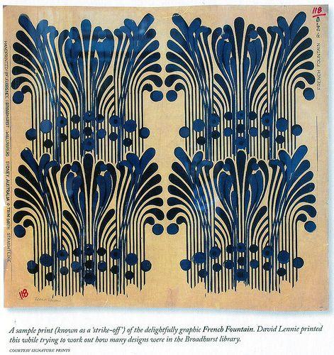 Vintage Florence Broadhurst paper
