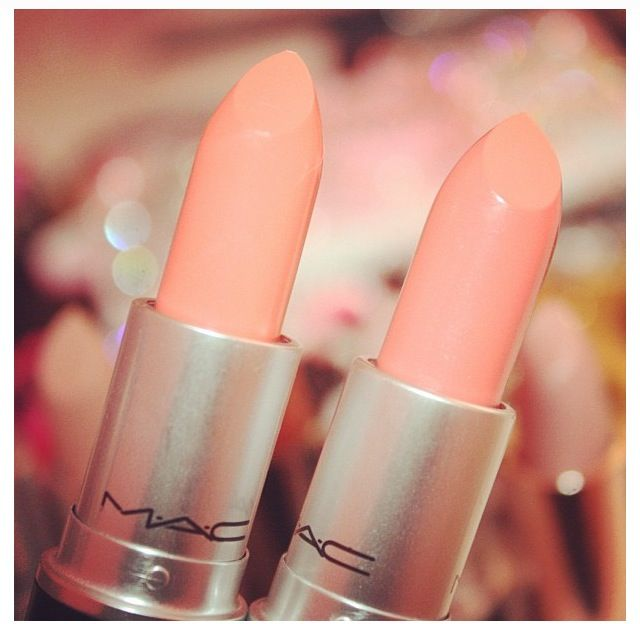 Pinterest ♔ katiiek143     M.A.C lipsticks in Reel Sexy and Coral bliss