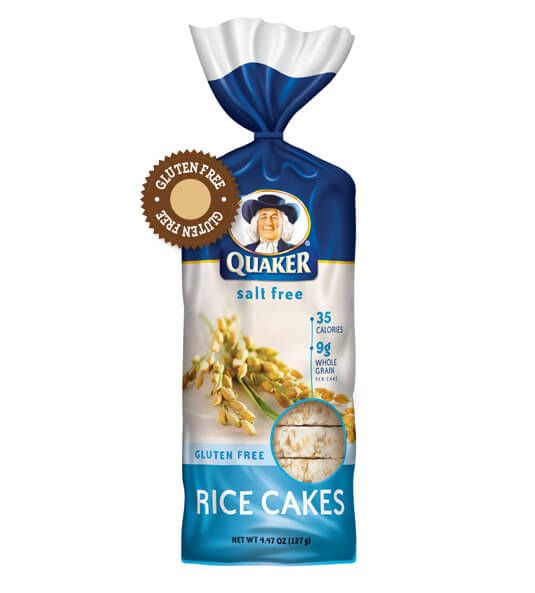 Quaker Oats White Cheddar Rice Cakes