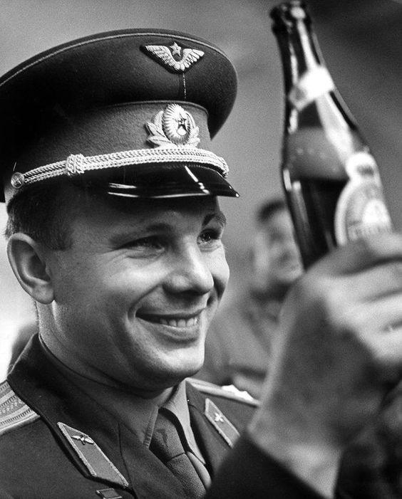 21 сентября 1962 г. Юрий Гагарин  в Копенгагене
