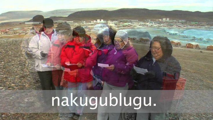 O Canada in Inuktitut