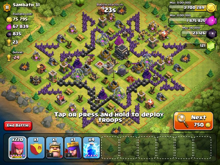 clash of clans more