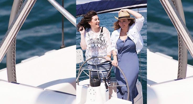 #summer #allsetsail #happysizes #plussize #fashion #happy #sun #sea #model #sexy #curvy #shopping