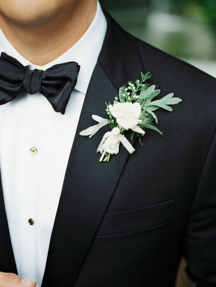 Photography: Marcie Meredith Photography - marciemeredith.com Groom's Attire: J Crew - http://jcrew.com   Read More on SMP: http://www.stylemepretty.com/2015/08/18/sweet-elegant-north-carolina-wedding/