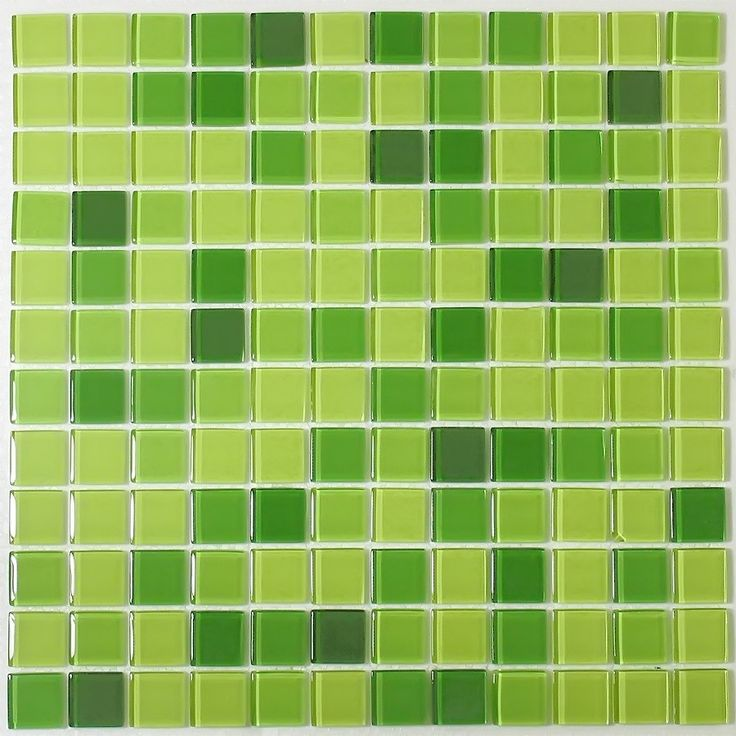 I LOVE this green tile for my kitchen