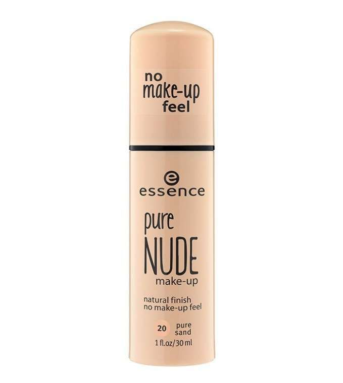 Fondotinta leggero Primavera Estate 2016 - Fondotinta Essence Pure Nude