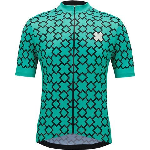 X-Patterned Cycling Jersey