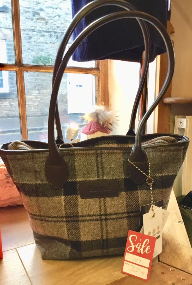 Beautiful Barbour bags, dresses, coats and tops are reduced by half in our Winter Sale right now.