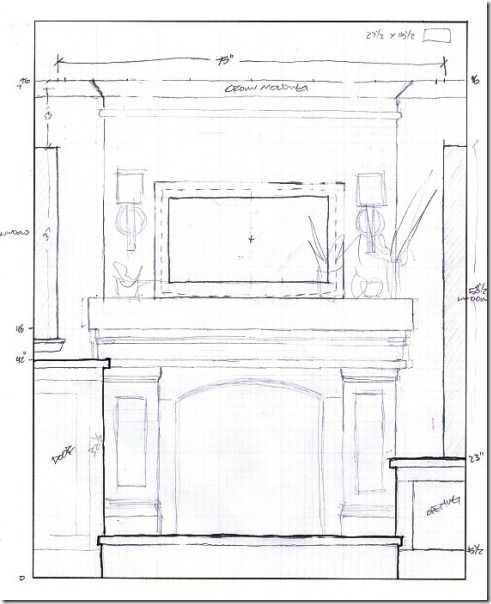 How To Build A Faux Mantle   Remodelaholic