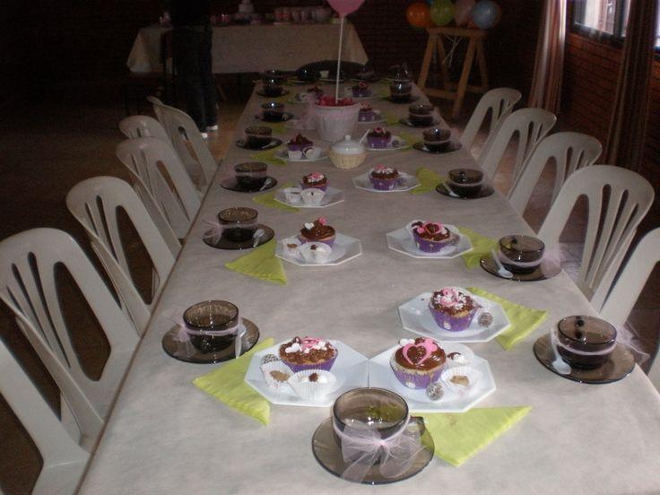 mesa de té  by Dulcinea de la fuente www.facebook.com/dulcinea.delafuente  #fiesta #festejo #cumpleaños #mesadulce#fuentedechocolate #agasajo# #candybar  #tamatización #personalizado #souvenir  #regalos personalizados #catering finger food