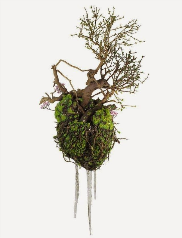 Intricately Detailed Sculptures Made from Wild Plants and Weeds by Émeric Chantier | Junkculture