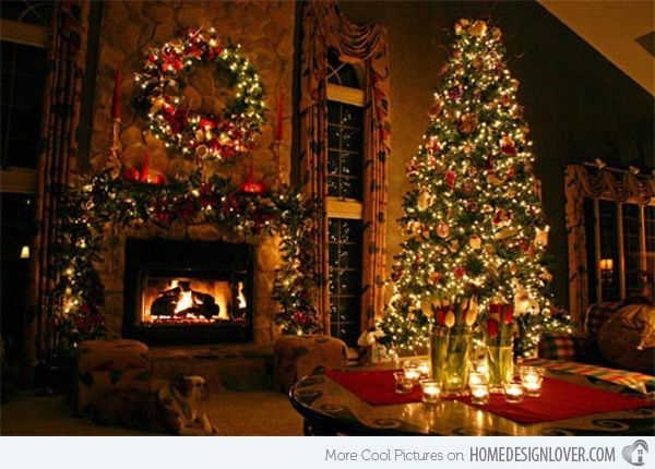 Home Design Lover 15 Christmas Decorated Living Rooms - Home Design Lover