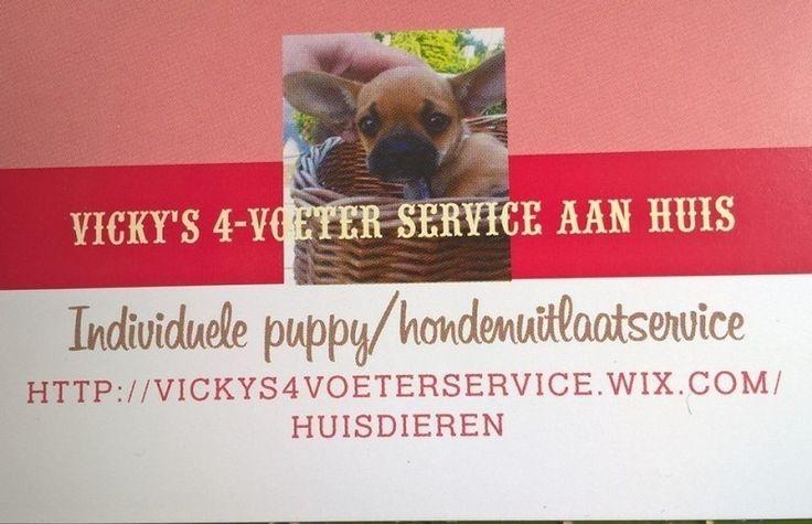 Vicky's 4-voeter Service Aan Huis aangeboden in Honden/ Puppy's en Dieren & Toebehoren op Koopplein.nl Langedijk, de gratis marktplaats
