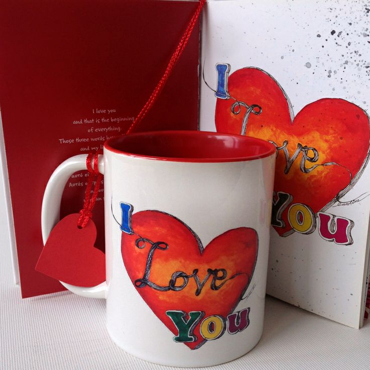 I love you mug especially designed for your loved one! #storymood #valentines #mugs