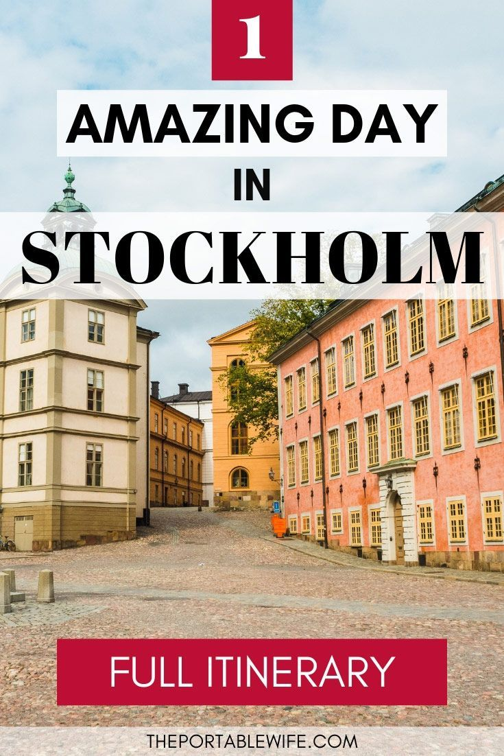 One Day in Stockholm: Itinerary for First-Time Visitors