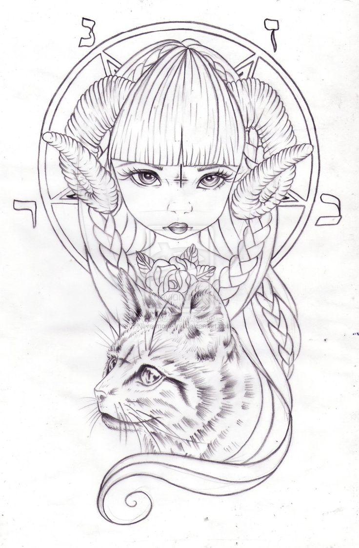 Sweet Baby Satanica by Nevermore-Ink.deviantart.com on @deviantART