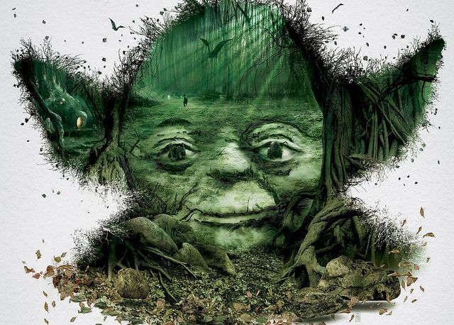 The STAR WARS identities by Bleublancrouge Canada DETAIL in Official Star Wars Blog, via Flickr_4