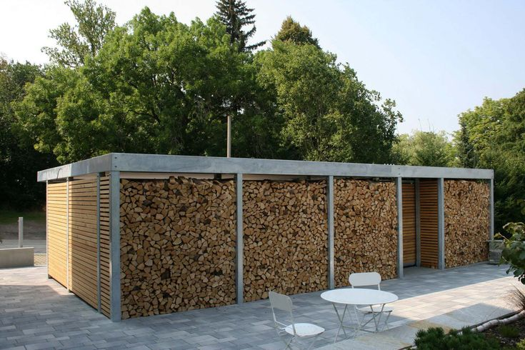 design metall carport aus holz verzinkt stahl mit. Black Bedroom Furniture Sets. Home Design Ideas