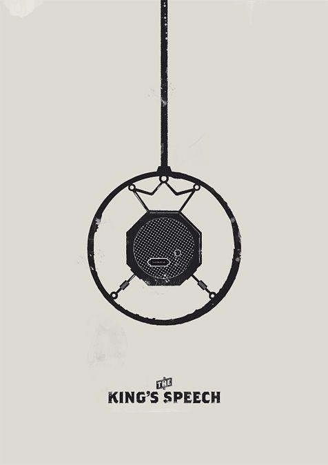 The King's Speech #poster #design #graphic design