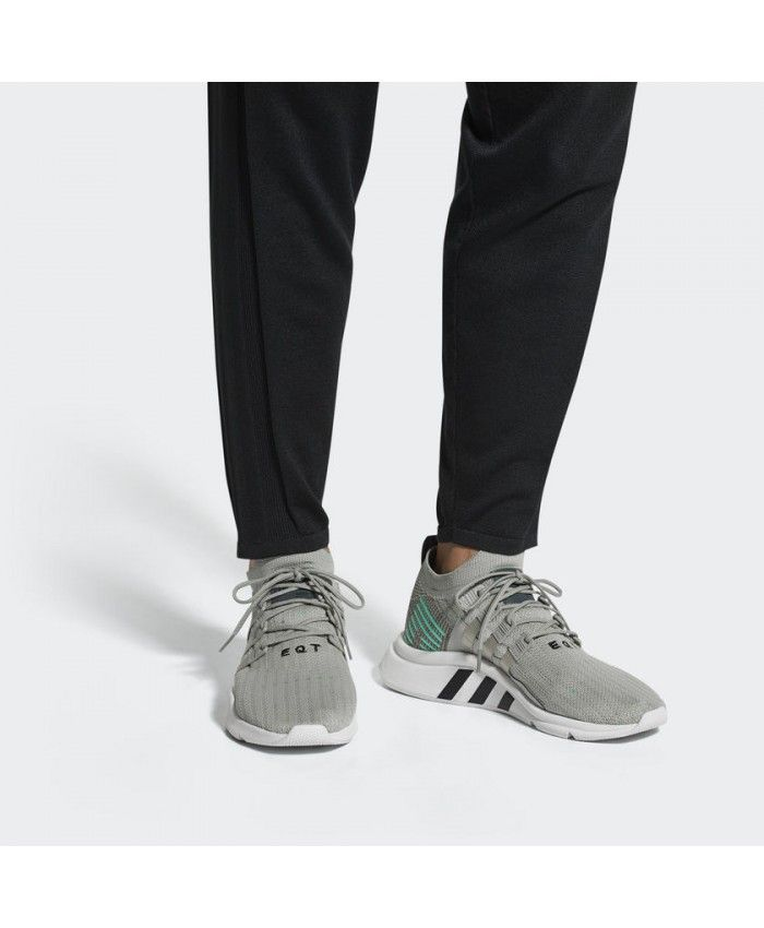 buy popular c1c84 25f1c Adidas Originals Eqt Support Mid Adv Grey Shoes