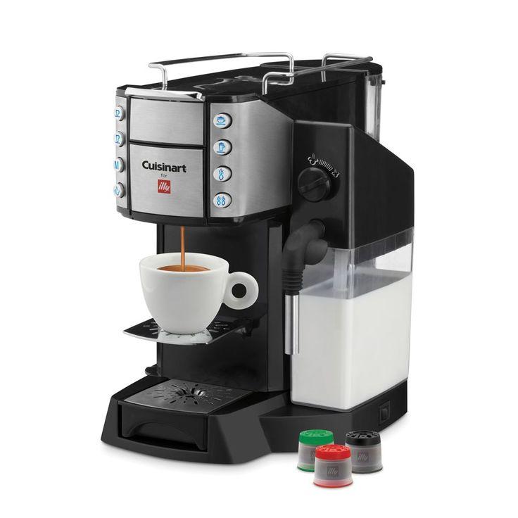 Illy Cuisinart Buona Tazza Super Automatic Single-Serve Espresso Machine
