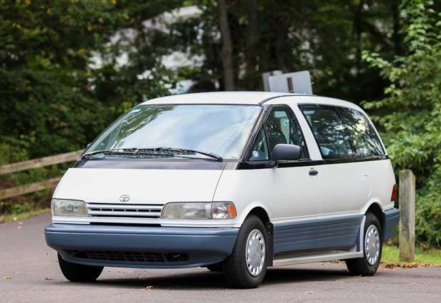Mid Engined Bubble Era Space Pod Preserved 1993 Toyota Previa Toyota Previa Toyota Classic Cars