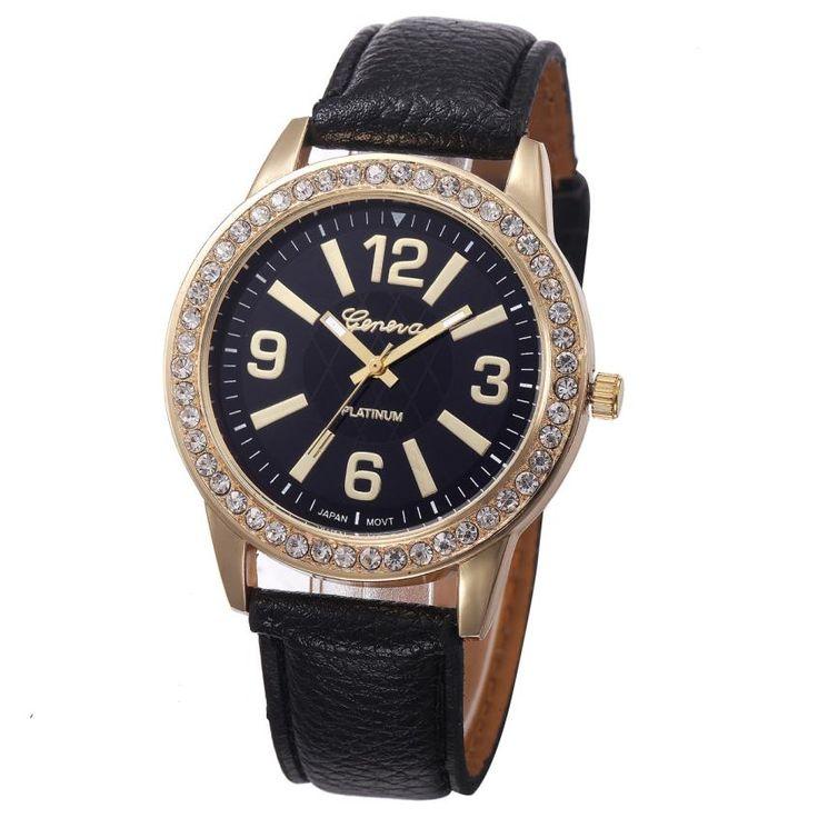 $1.83 (Buy here: https://alitems.com/g/1e8d114494ebda23ff8b16525dc3e8/?i=5&ulp=https%3A%2F%2Fwww.aliexpress.com%2Fitem%2FFetong-Women-s-Geneva-Quartz-Wrist-Watch-Crystal-Leather-Wristwatch-relojes-horloge-montres-femmes-relogio-Drop%2F32785672544.html ) Hot Unique Women's Geneva Quartz Wrist Watch Crystal Leather Wristwatch relojes horloge montres femmes relogio Drop Shipping F12 for just $1.83