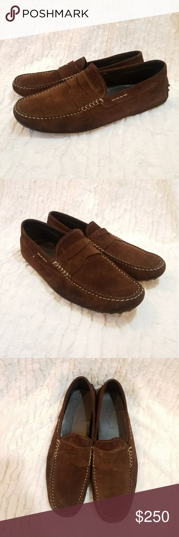 TOD'S BROWN SUEDE LOAFERS Lightly pre-loved Tod's brown suede loafers with rubber dot soles. Great condition, they still have plenty of life left in them. Make me an offer I can't refuse. Happy poshing! Tod's Shoes Loafers & Slip-Ons