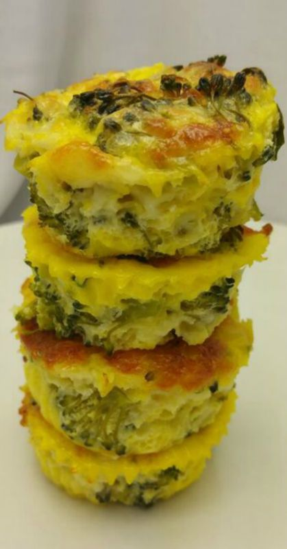Broccoli and Cheese Quiche Muffins | Metabolic Research Center | Recipe